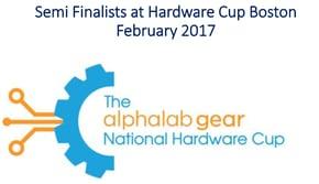 Hardware Cup Boston Semi Finalist 2017