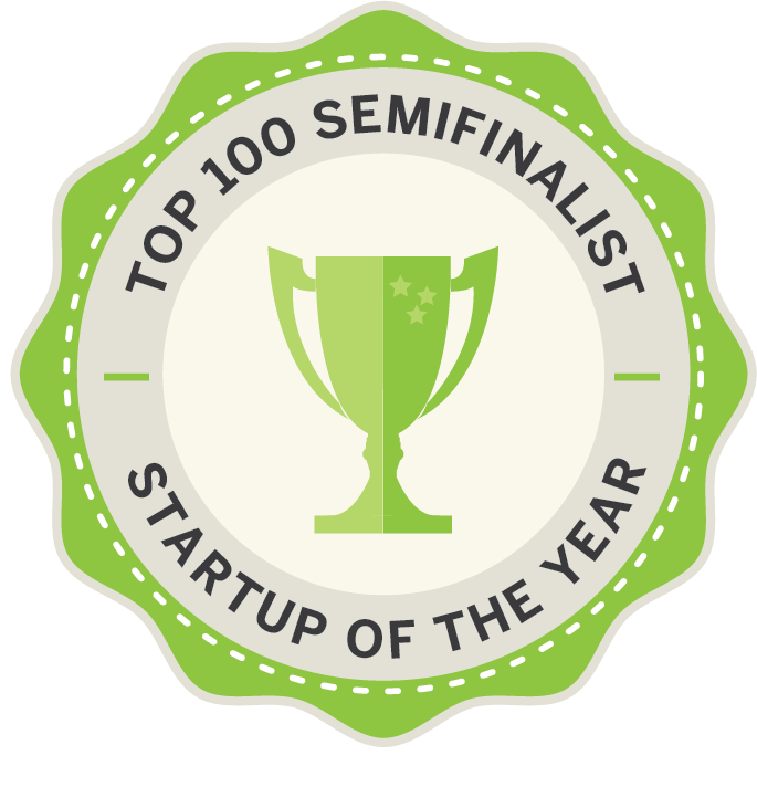 Badge-semifinalist Startup of the Year 2018