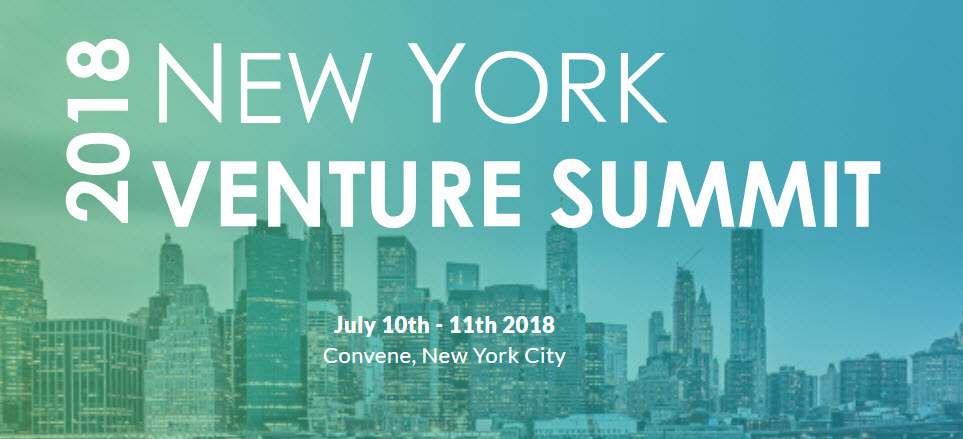 NY Venture Summit NYC July 2018