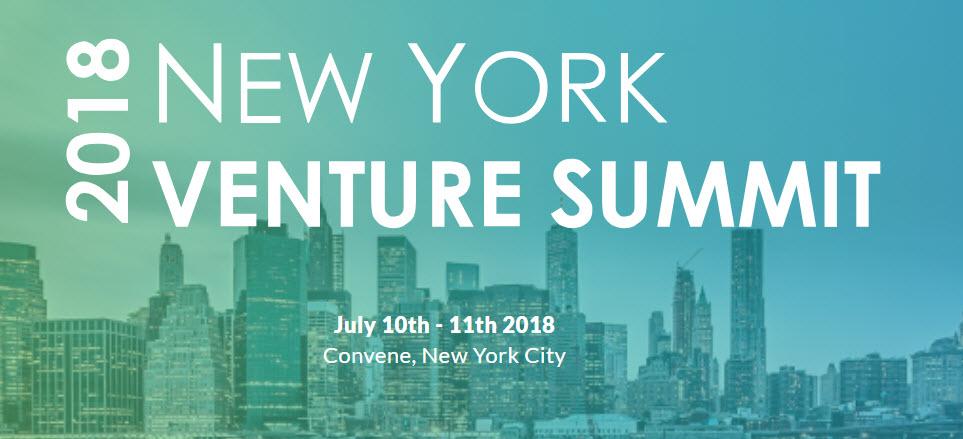 NY Venture Summit NYC July 2018