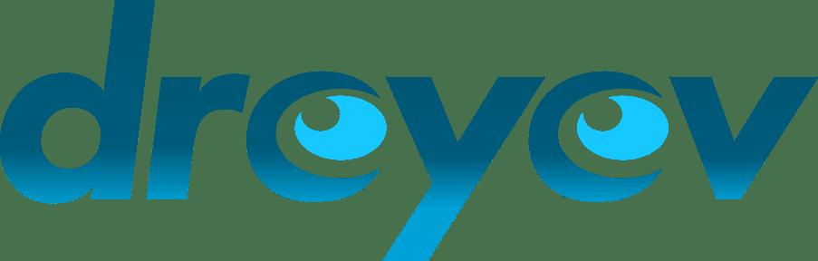 dreyev logo shaded turquoise