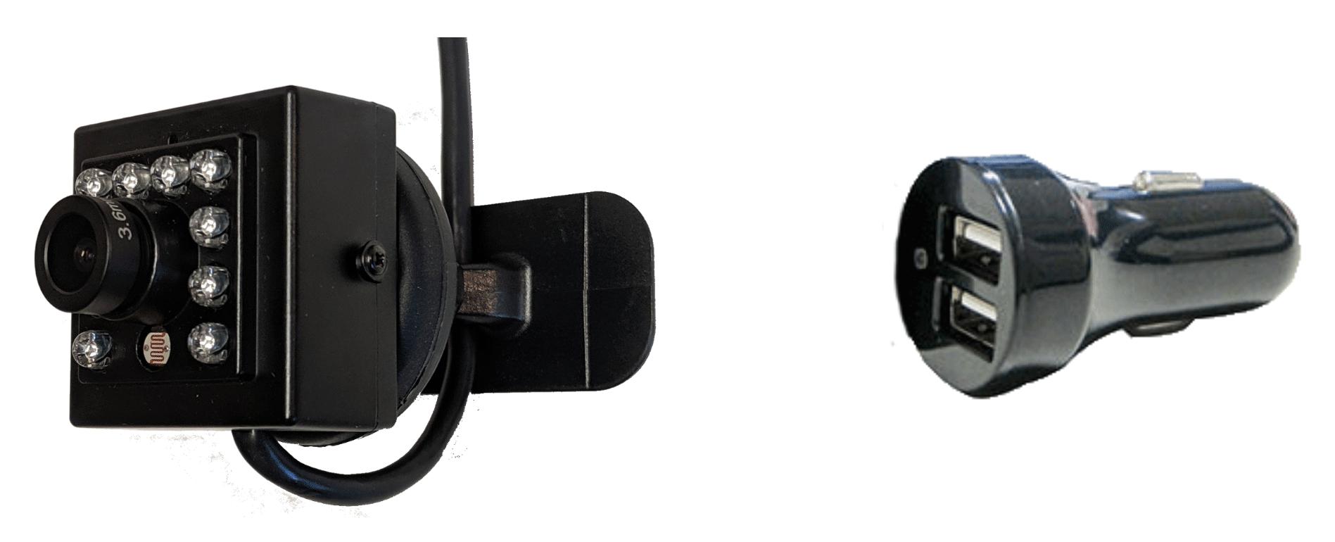 forward facing camera